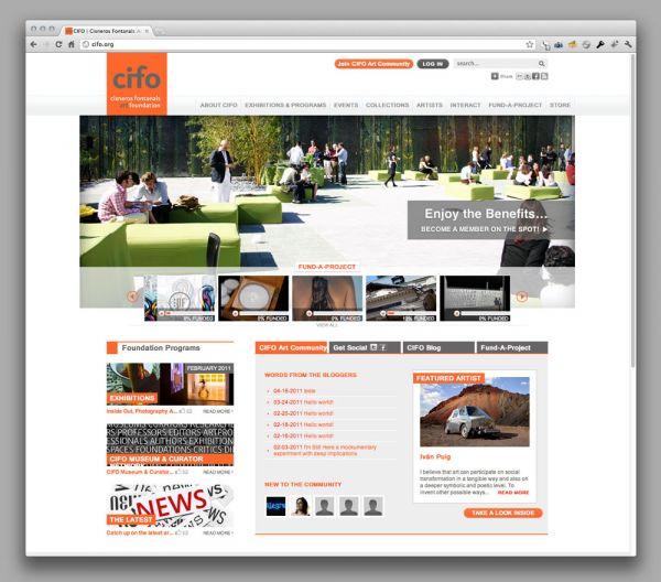 CIFO website